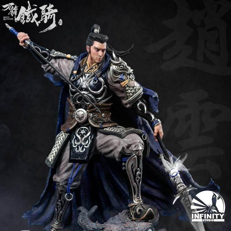 Iron Knight Sangokushi General Zhao Yun - 1/4 Scale Polystone Statue