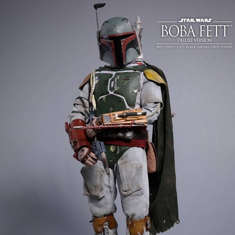 Boba Fett Deluxe Version - Star Wars Episode V - 1/6 Scale Figur