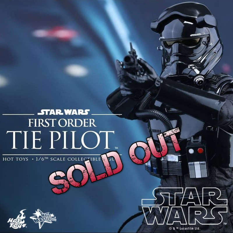 First Order TIE Pilot - Star Wars - 1/6 Scale Figur