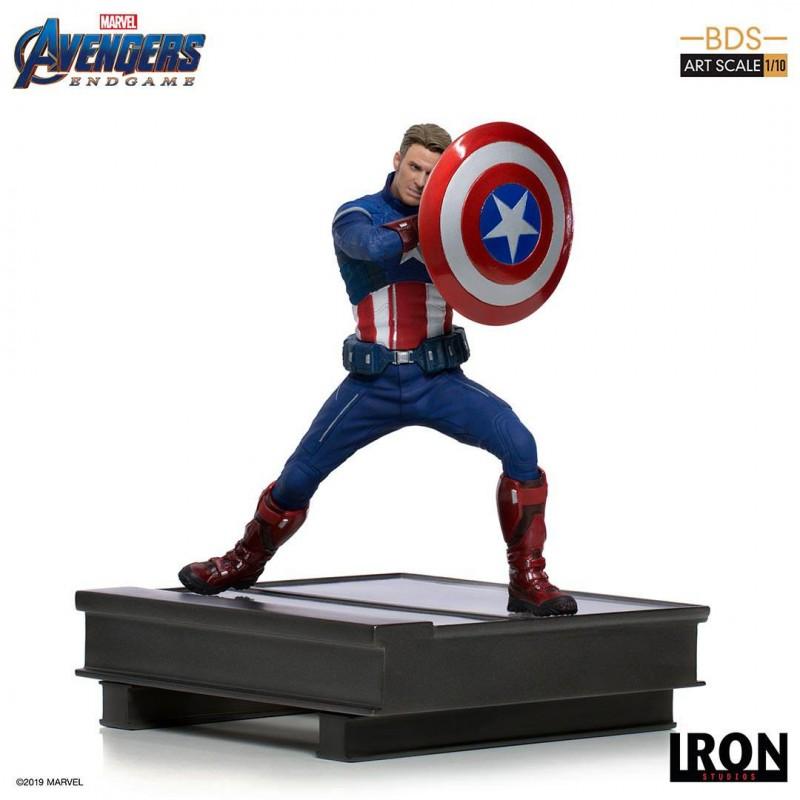 Captain America 2023 - Avengers: Endgame - Deluxe BDS Art 1/10 Scale Statue
