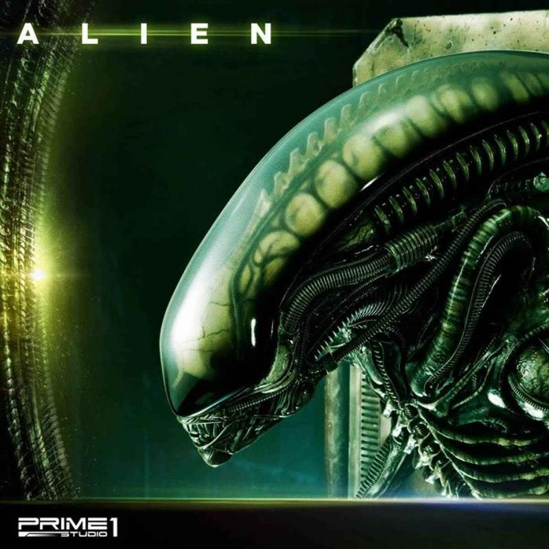 Alien Big Chap - Alien - 3D Wand Art Statue