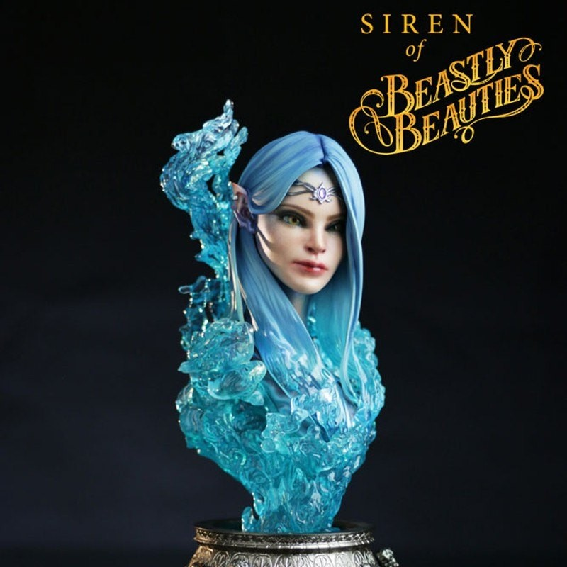 Siren - Beastly Beauties - 1/2 Scale Büste