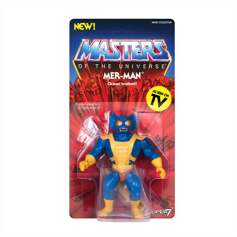 Mer-Man - Masters of the Universe - Vintage Collection Actionfigur 14cm