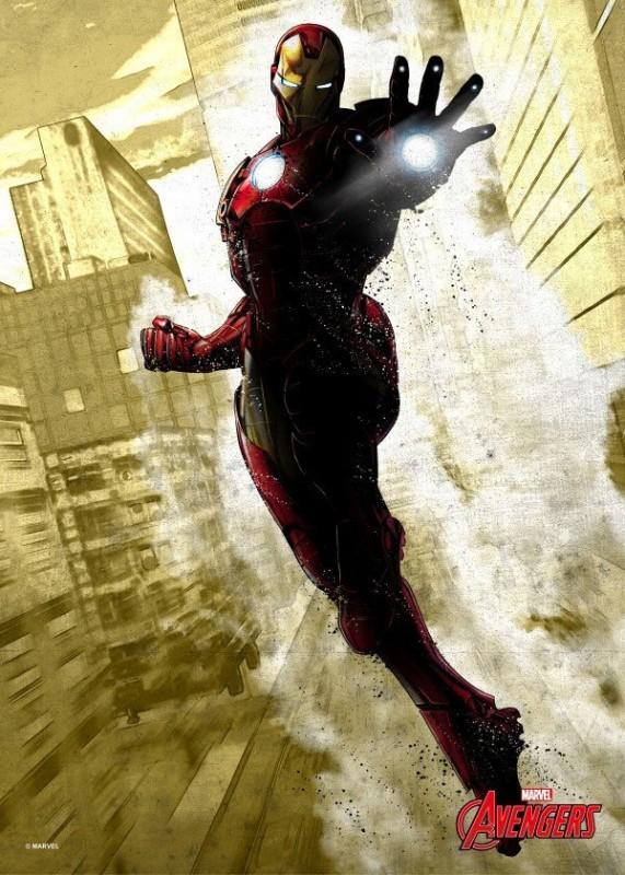 Iron Man - Marvel Comics - Metall-Poster