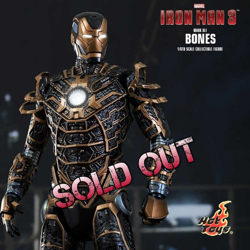 Bones Mark XLI - Iron Man 3 - 1/6 Scale Action Figur