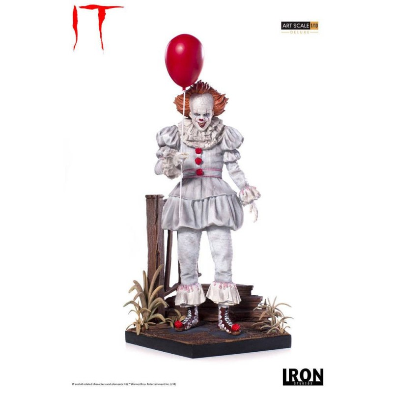 Pennywise - Stephen Kings Es 2017 - 1/10 Deluxe Art Scale Statue