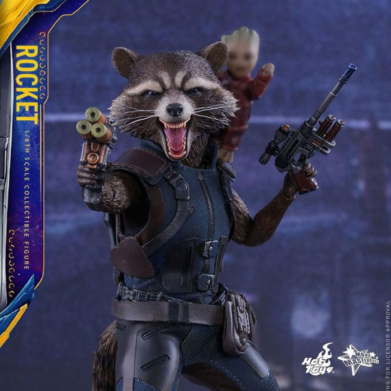 Rocket - Guardians of the Galaxy Vol. 2 - 1/6 Scale Figur
