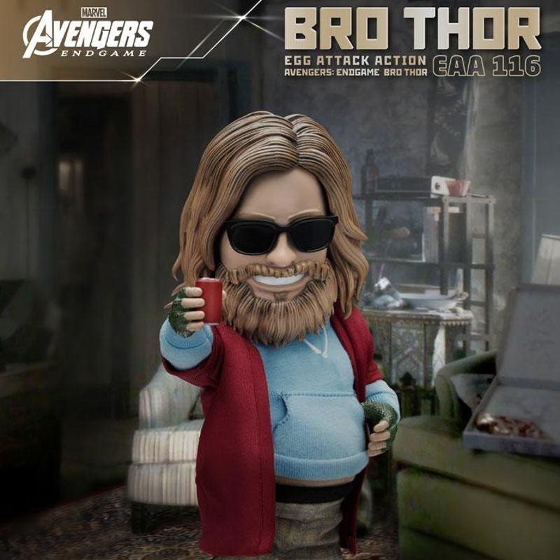 Bro Thor Beast Kingdom Exclusive - Avengers: Endgame - Egg Attack Actionfigur