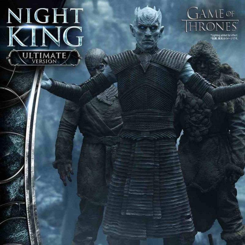 Night King Ultimate Version - Game of Thrones - 1/4 Scale Polystone Statue-Copy