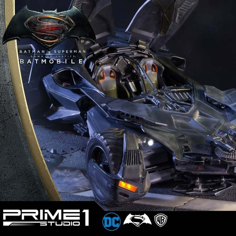 Batmobile - Batman v Superman - 1/10 Scale Diorama