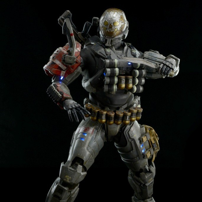Reach Spartan-III A239 Emile - Halo - Action Figur