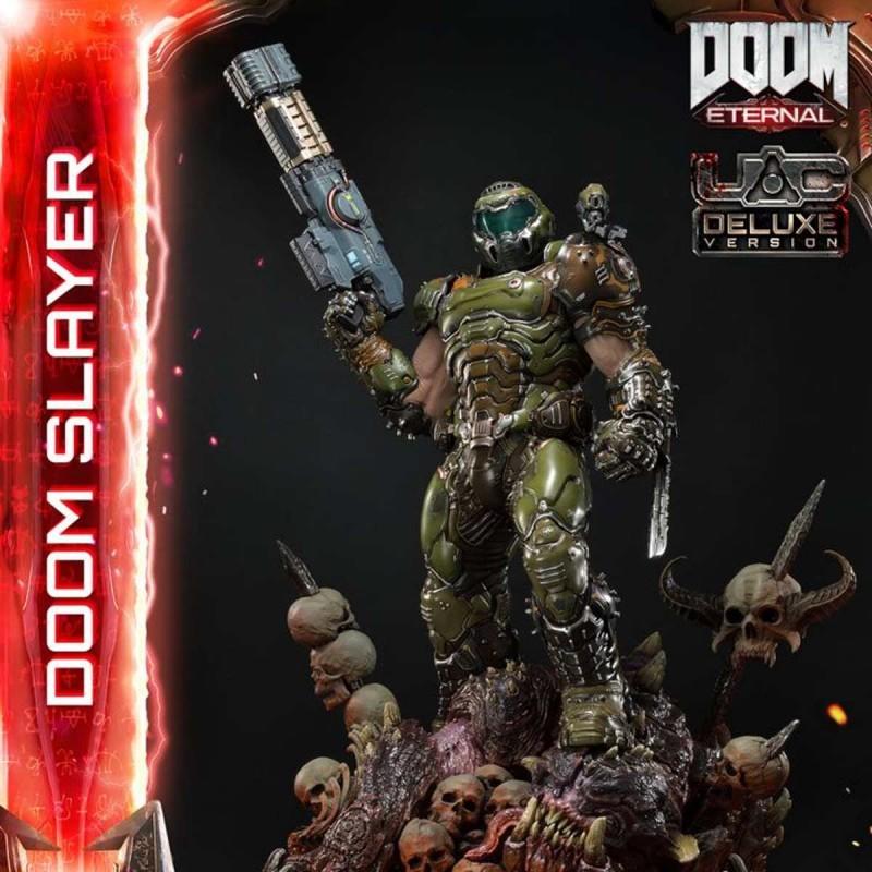 Doom Slayer Deluxe Version - Doom Eternal - 1/3 Scale Statue