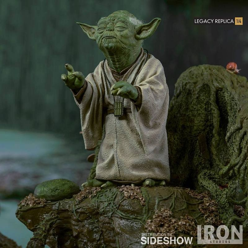 Yoda - Star Wars Episode V - 1/4 Legacy Replica Statue