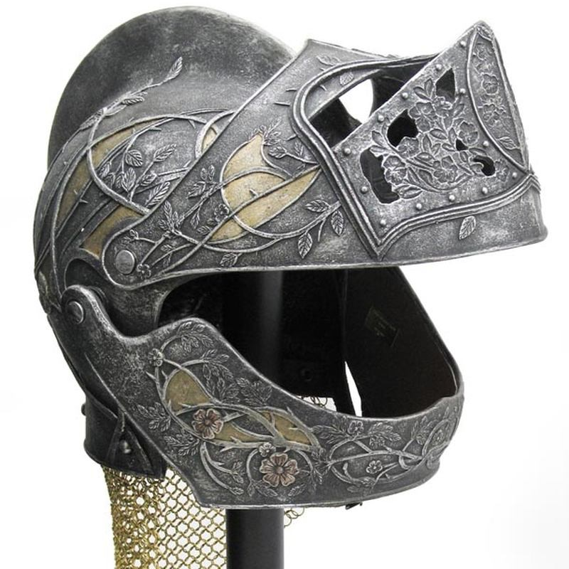 Loras Tyrells Helm - Game of Thrones -1/1 Replik