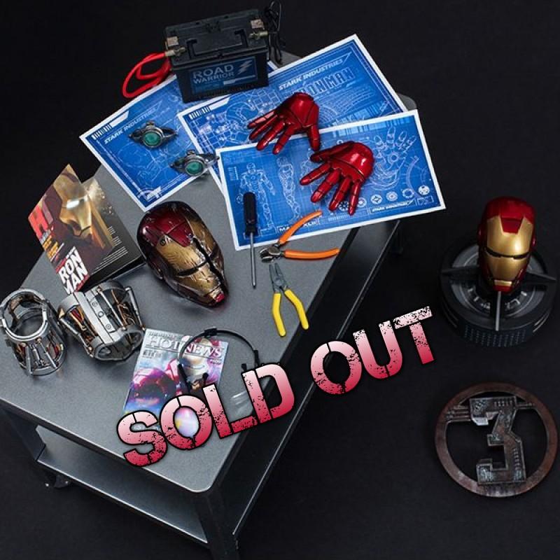 Iron Man - Workshop Accessories - 1/6 Scale Set