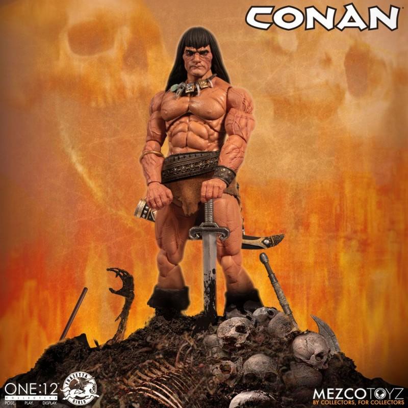 Conan - Conan der Barbar - 1/12 Scale Figur