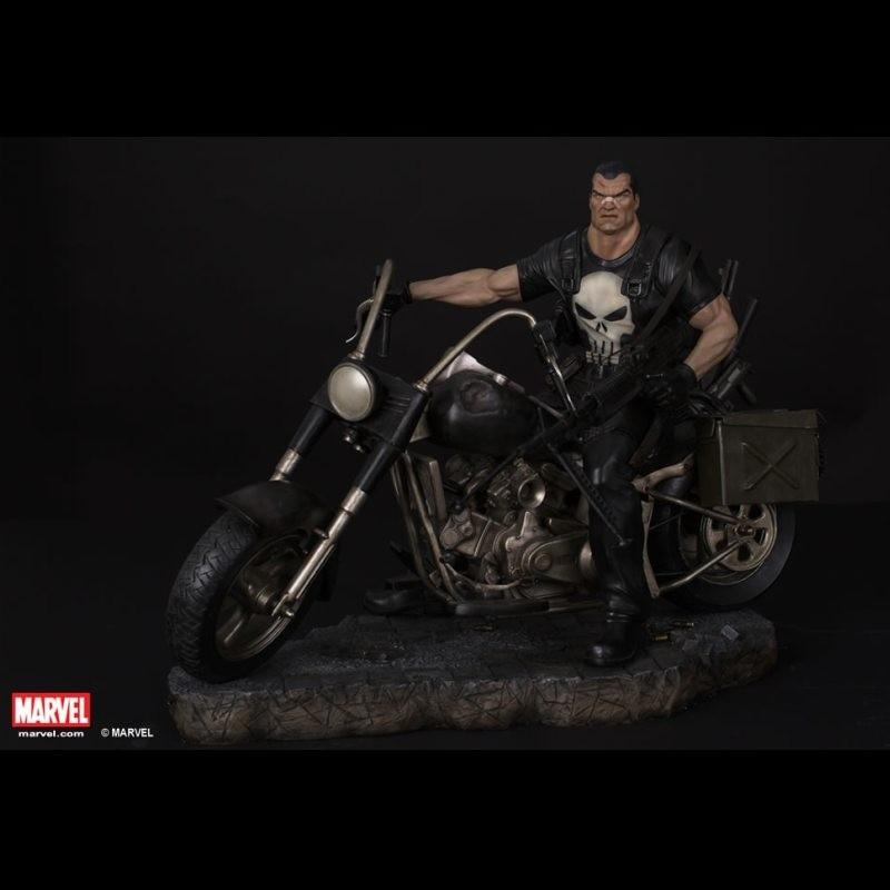 Punisher - Marvel Comics - 1/4 Scale Premium Statue