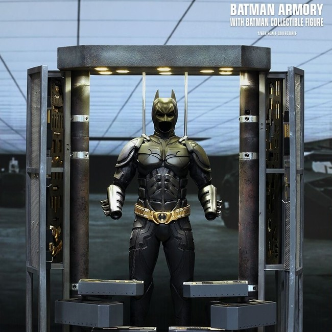 Batman Armory mit Batman - 1/6 Scale