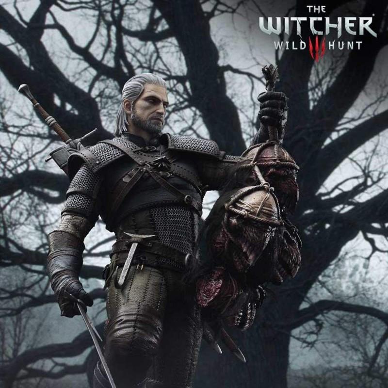 Geralt von Riva - Witcher 3 Wild Hunt - 1/3 Scale Museum Masterline Statue