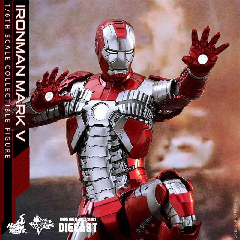 Mark V - Iron Man 2 - Diecast 1/6 Scale Figure