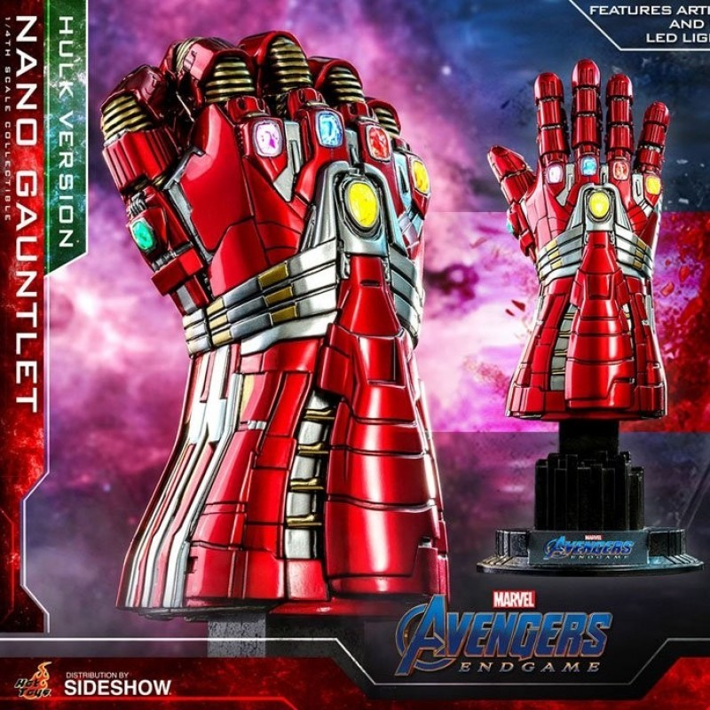 Nano Gauntlet (Hulk Version) - Avengers: Endgame - 1/4 Scale Replica