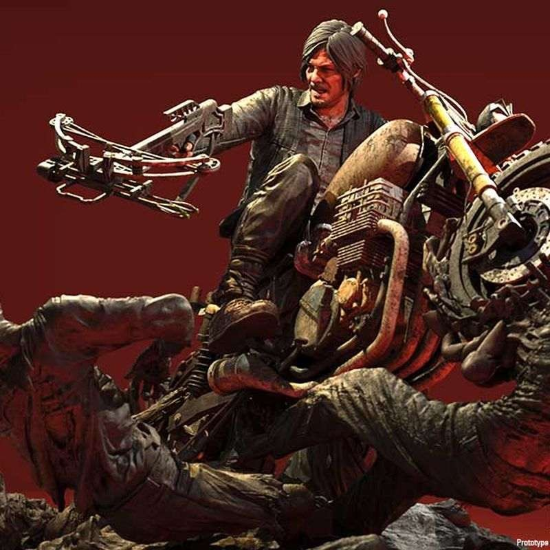 Daryl Dixon Limited Edition - The Walking Dead - Resin Statue