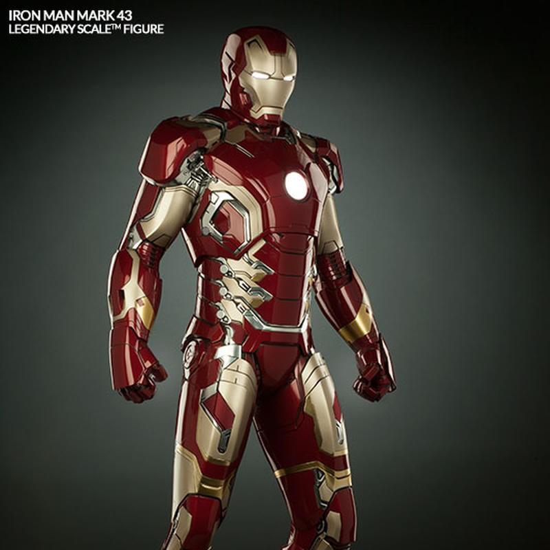 Iron Man Mark 43 - Legendary Scale Statue
