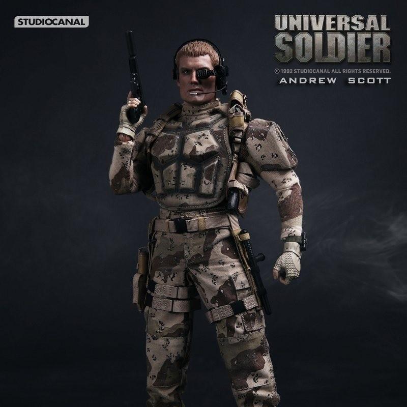 Andrew Scott - Universal Soldier - 1/6 Scale Figur