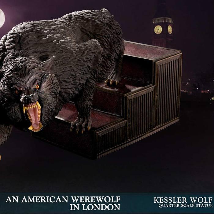 Kessler Wolf - American Werewolf - 1/4 Scale Statue