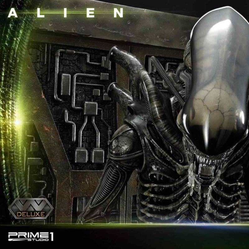 Alien Big Chap Deluxe Version - Alien - 3D Wand Art Statue