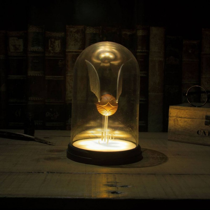Bell Jar Lampe Golden Snitch - Harry Potter - Lampe
