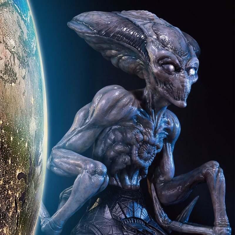 Alien - Independence Day Wiederkehr - Polystone Büste