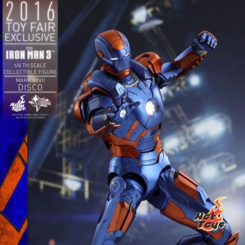 Disco Mark XXVII - Iron Man 3 - 1/6 Scale Action Figur