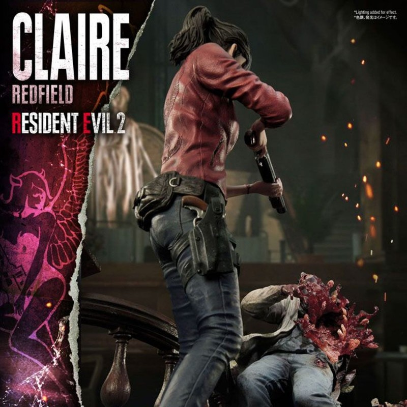 Claire Redfield - Resident Evil 2 - 1/4 Scale Polystone Statue