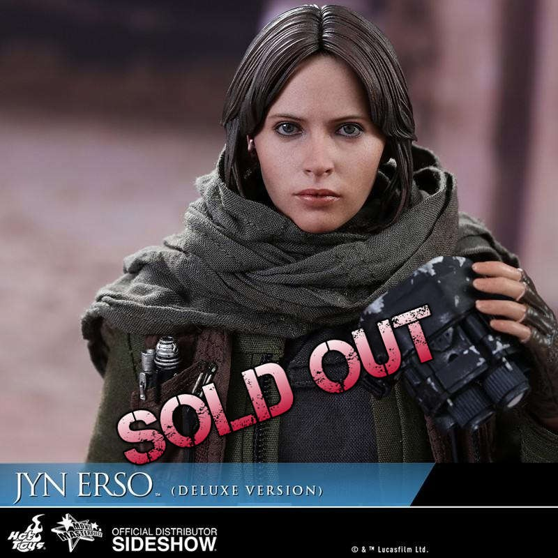 Jyn Erso Deluxe - Rogue One: A Star Wars Story - 1/6 Scale Figur