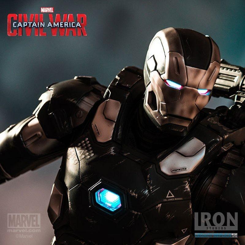 War Machine - Captain America Civil War - 1/4 Scale Statue
