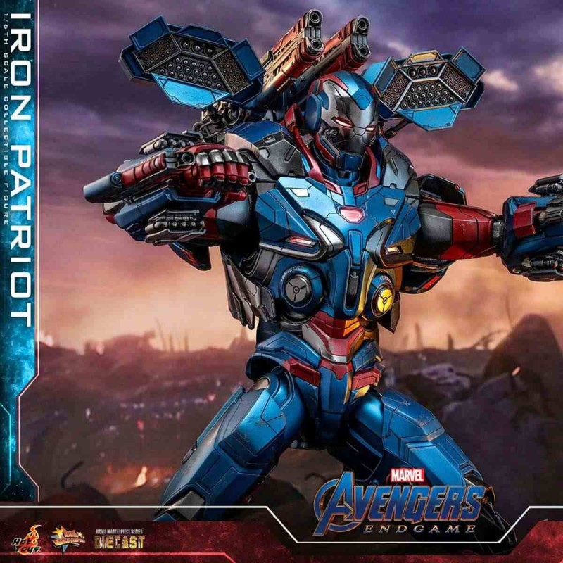 Iron Patriot - Avengers: Endgame - Diecast 1/6 Scale Figur