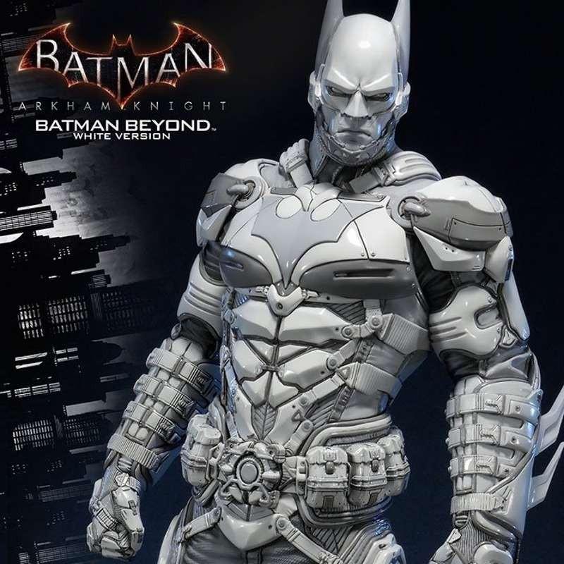 Batman Beyond White Version - Arkham Knight - 1/3 Scale Statue