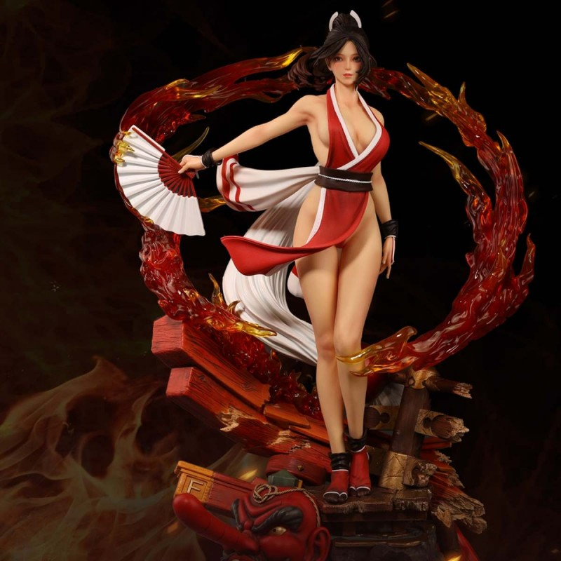 Mai Shiranui - The King of Fighters XIII - 1/4 Scale Resin Statue