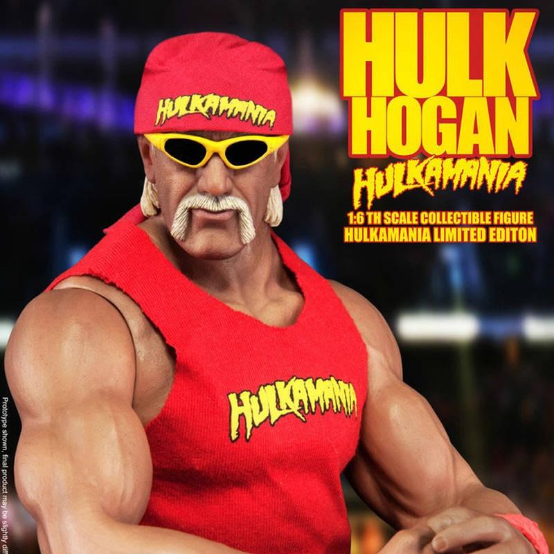 Hulk Hogan - WWE Wrestling - 1/6 Scale Figur