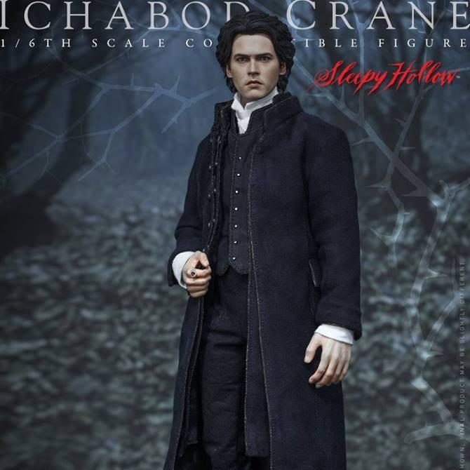 Ichabod Crane - Sleepy Hollow - 1/6 Scale Action Figur