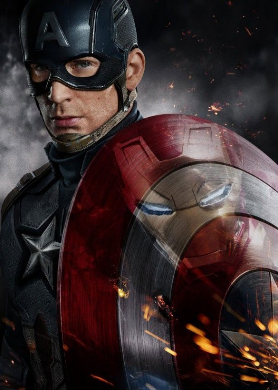 Captain America - Marvel Comics - Metall-Poster