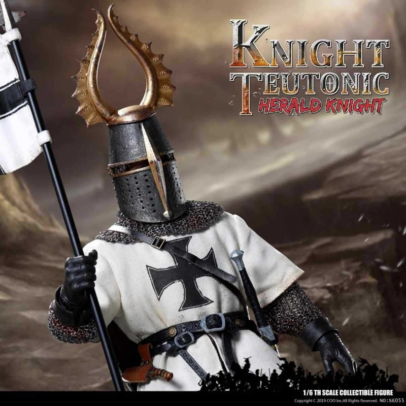 Herald of Knights Teutonic - Series of Empires - 1/6 Scale Actionfigur