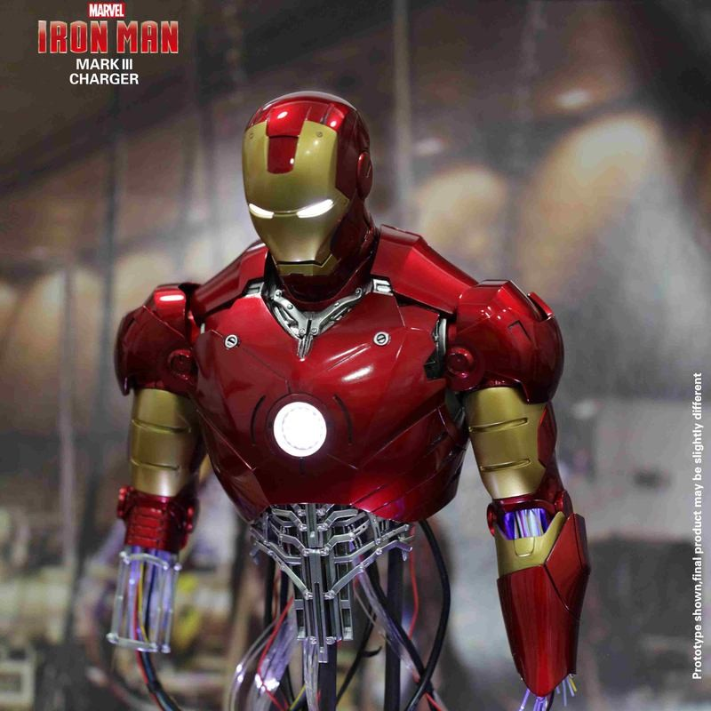 Mark III Repair Version - Iron Man - 1/4 Power Charger