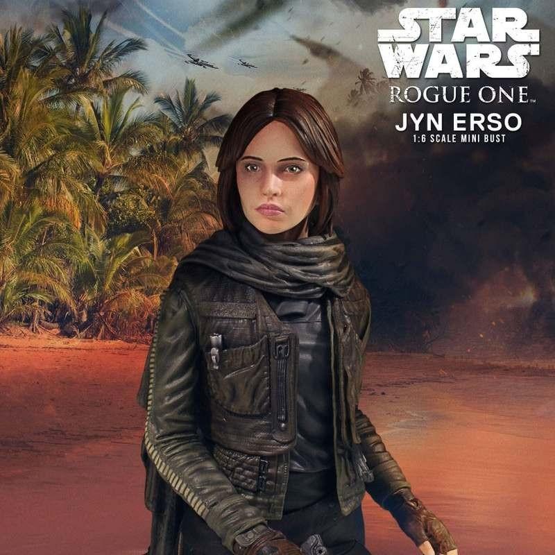 Jyn Erso - Star Wars - Deluxe Büste 1/6