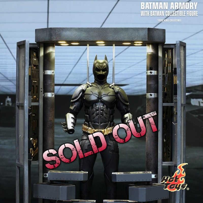 Batman Armory mit Batman - 1/6 Scale