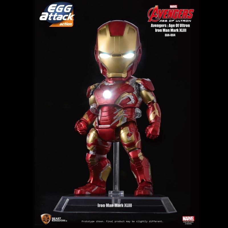 Mark XLIII - Iron Man 3 - Egg Attack Actionfigur
