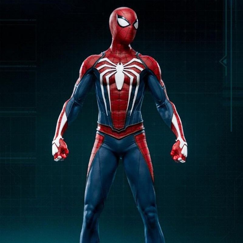 Spider-Man Advanced Suit - Marvel's Spider-Man - 1/10 Scale Statue