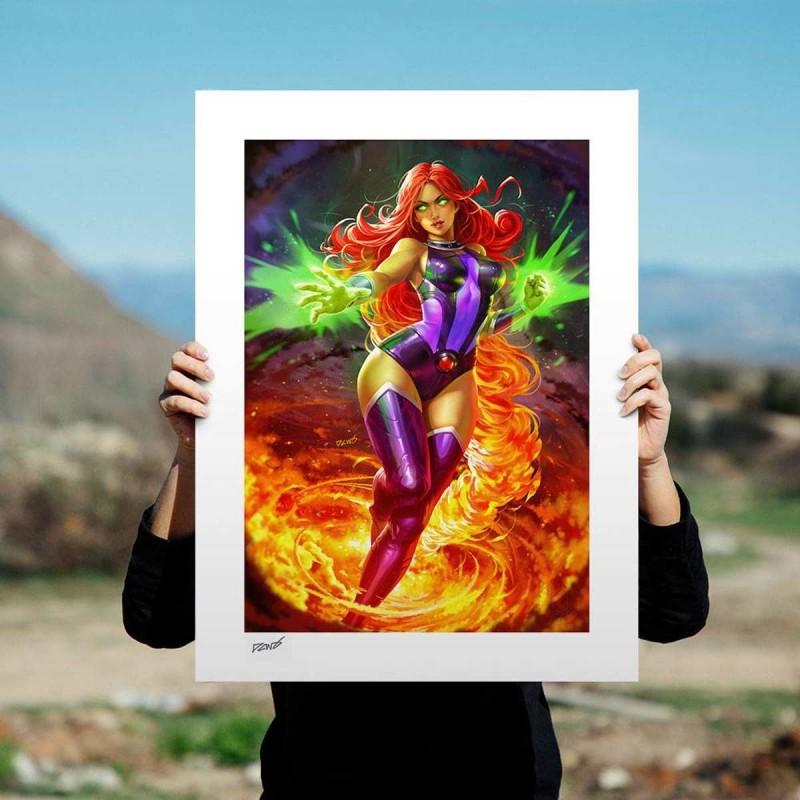 Starfire - DC Comics - Kunstdruck 61 x 46 cm