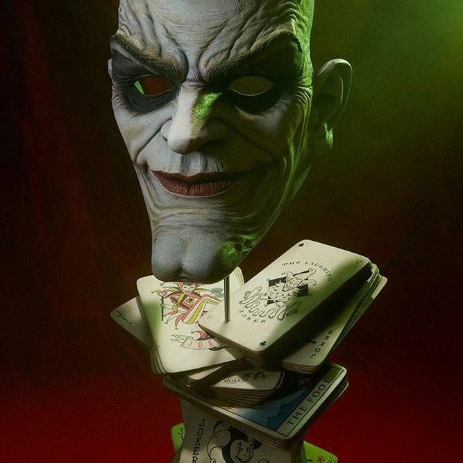 The Joker Face of Insanity - DC Comics - Life-Size Büste